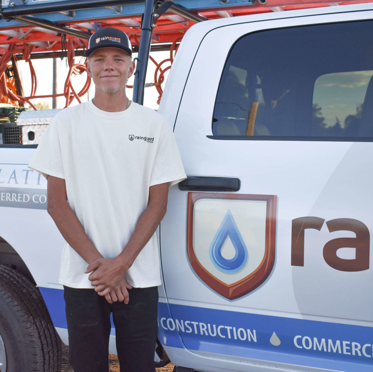 thayne sanborn of the rain guard roofing team